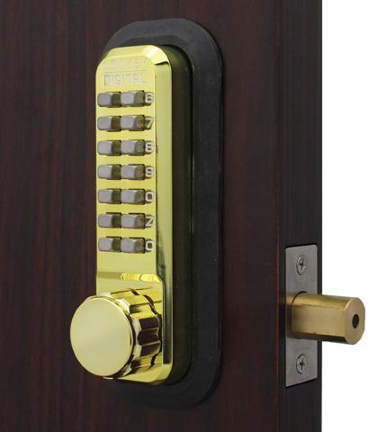2210 Mechanical Keyless Combination Deadbolt Lock Lockeyusa