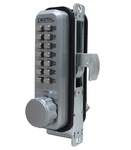 2950 Mechanical Keyless Narrow Stile Hook Bolt Lock - LockeyUSA
