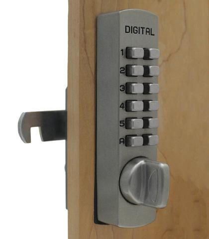 Features. Mechanical, Keyless, Push Button Lock
