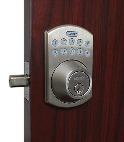 E915 Electronic Keypad Deadbolt Lock Lockeyusa